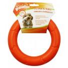 Gioco gomma a forma di anello per cani