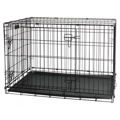 Kennel pieghevole in acciaio per cani