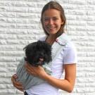 Borsa tracolla 4LAZYLEGS Sabbia XS per cani