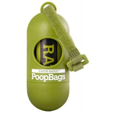 Portasacchetti igienici Poop Bags inclusi 15 sacchetti per cani