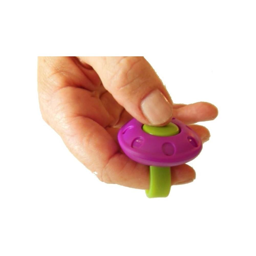 Clicker MCRS con anello per dito per cani