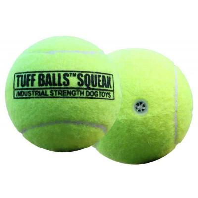 Pallina tennis SQUEAKer. Suona per cani