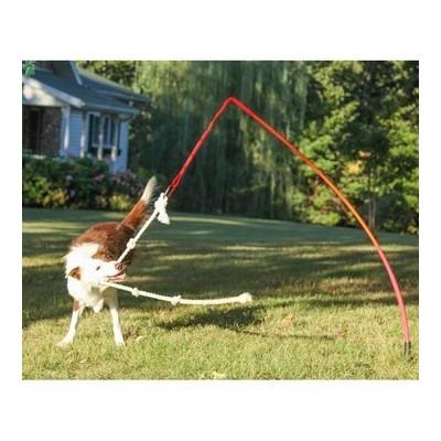 Gioco TETHER TUG perfetto all'aperto per cani
