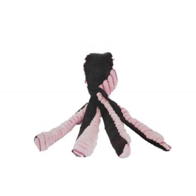 Pallina da lancio POLIPO con tentacoli 30 cm. Rosa per cani