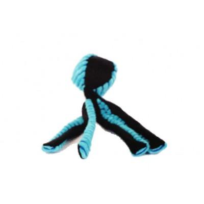 Pallina da lancio POLIPO con tentacoli 30 cm Azzurro per cani