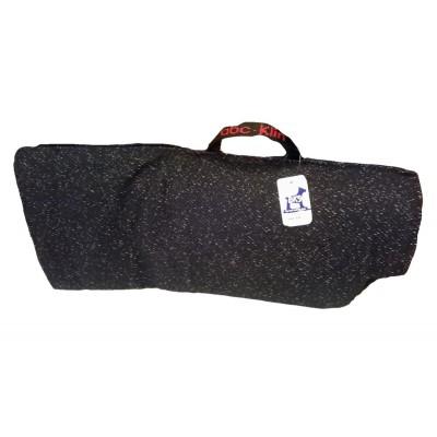 Cover con cuscino cuneo e maniglia per manica K029 per cani