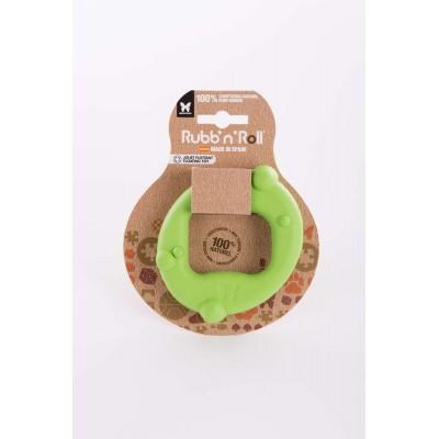 Gioco gomma naturale CERCHIO. Verde per cani