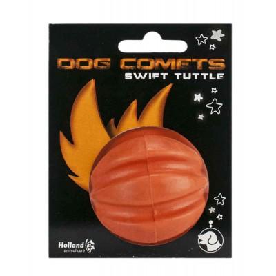 Pallina gomma naturale 100% Rimbalza, arancione per cani