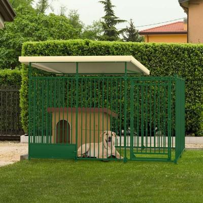 Recinto modulare per esterno 4 x 2 mt. per cani