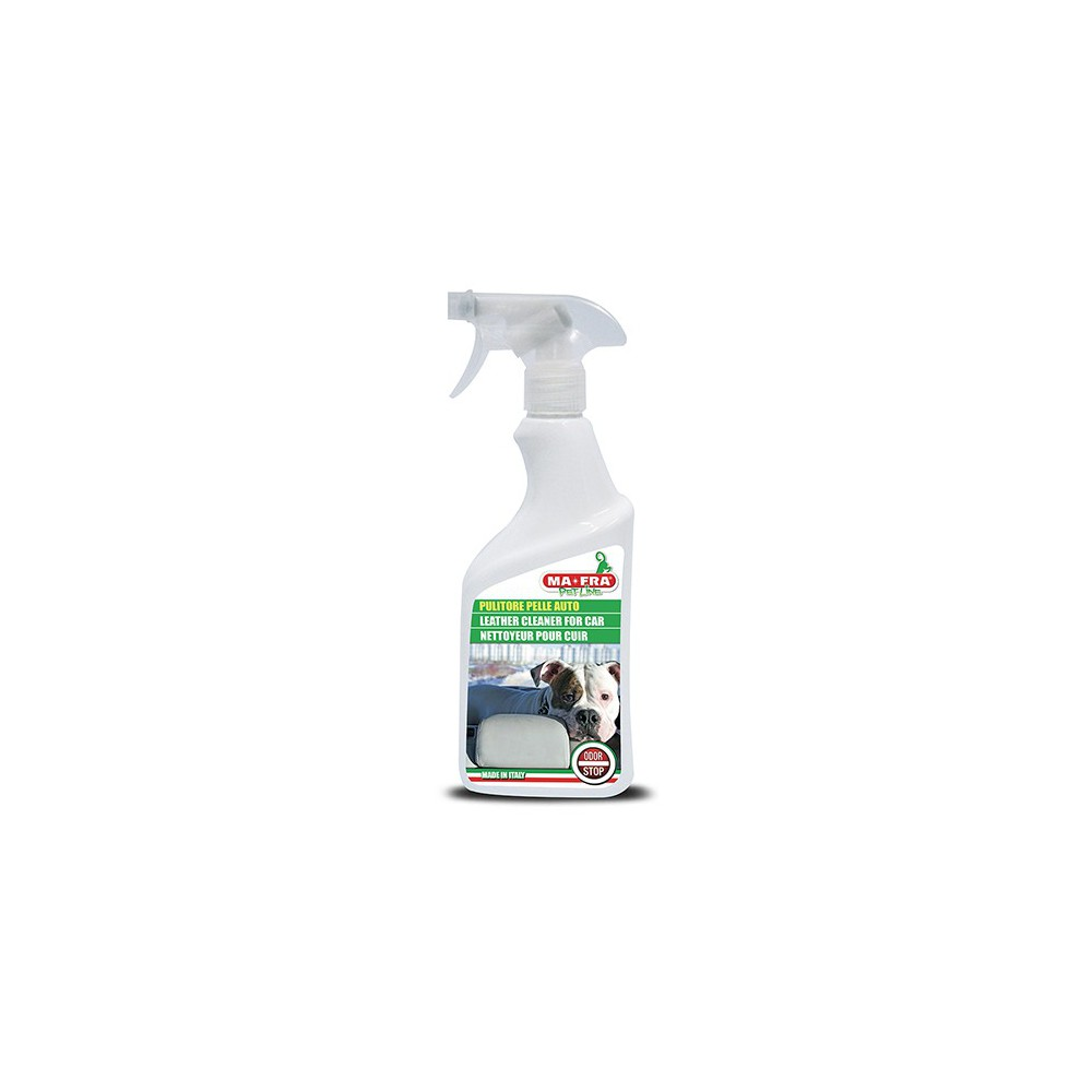 Detergente sedili auto in pelle 500 ML per cani