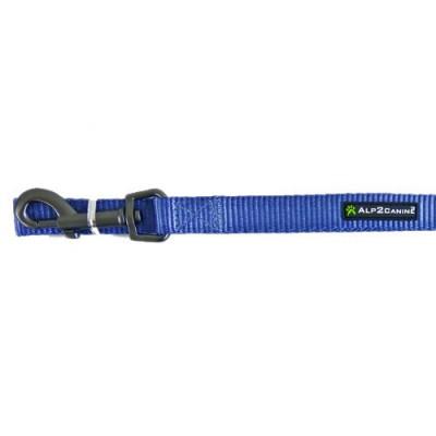Guinzaglio nylon A2C Comfort 120 CM X 18 MM Blu per cani