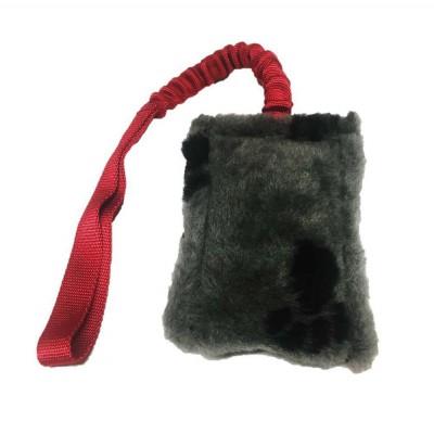 Salamotto peluche morbido maniglia elastica BUNGEE. Tug per cani