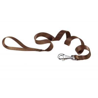 Guinzaglio nylon Marrone Club per cani