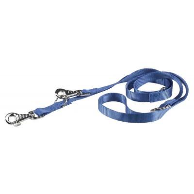 Guinzaglio nylon allungabile Blu per cani