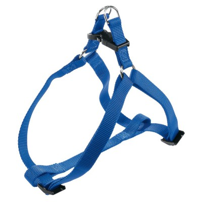 Pettorina nylon Azzurro per cani