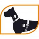 Pettorina nylon Marrone per cani