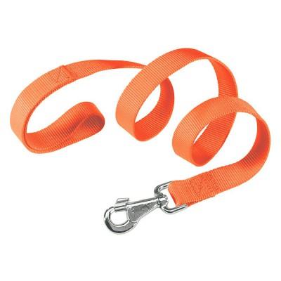 Guinzaglio nylon Arancione per cani