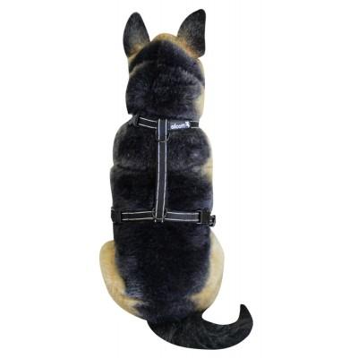 Pettorina catarifrangente della linea Essential Alcott Nera per cani