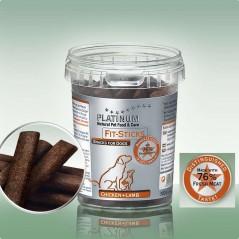 Snack Platinum Fit Sticks Chicken e Lamb. 76% Carne fresca per cani