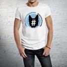 T-shirt caniaddestraumani - La maglietta 100% SallyStyle gadget cani
