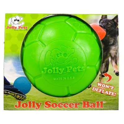 Pallone da calcio Grande, non si sgonfia VERDE per cani