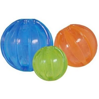 Pallina JW Squeaky Ball con squeaker diam. 7,5 cm.