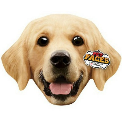 Pet Faces muso Golden Retriever Cuscino