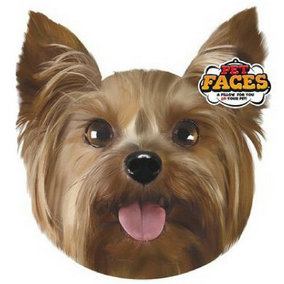 Pet Faces muso Yorkshire Terrier Cuscino