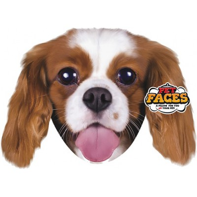 Pet Faces muso Cavalier King Cuscino