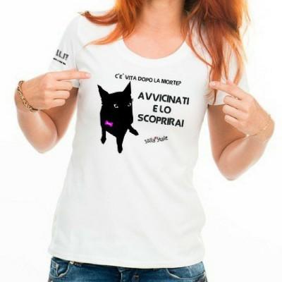 T-shirt caniaddestraumani Vita dopo... - Maglietta sallystyle gadget cani