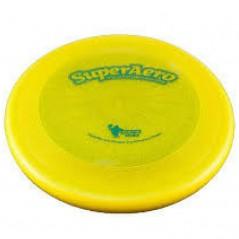 Frisbee Disc Dog Super Aero Starlite Giallo per cani