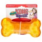Gioco kong a forma di osso Squeezz Crackle Medium per cani