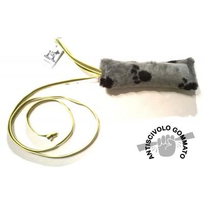 Tug tessuto con maniglia e corda lunga antiscivolo per cani
