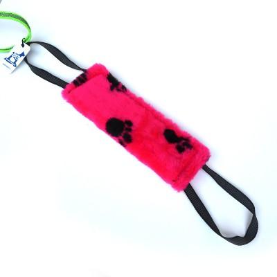 Salamotto morbido, Peluche Rosa Con Squeak. Tug 30 x 8 cm per cani