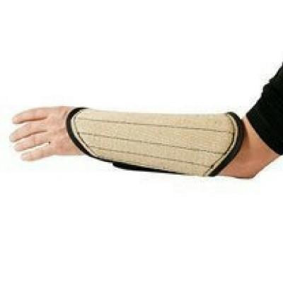 Protezione braccio In juta con imbottitura
