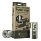 Sacchetti igienici 60 pcs biodegradabili (4x15) per cani