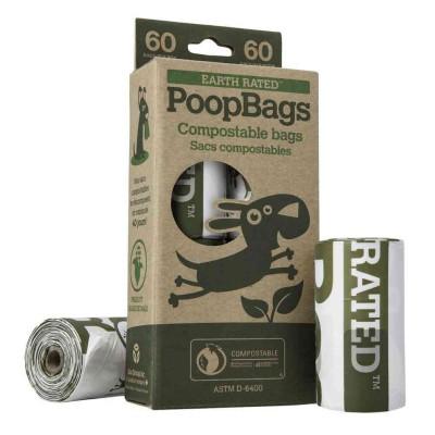 Sacchetti igienici 60 pcs biodegradabili (4x15)