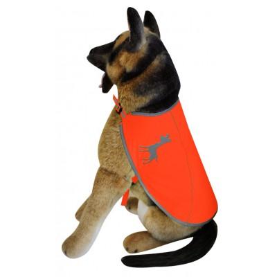 Mantellina catarifrangente REGOLABILE Essentials visibility per cani