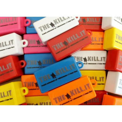 Clicker con logo thekill.it per cani