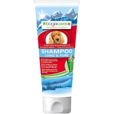 Shampoo per manto lungo 200 ml per cani