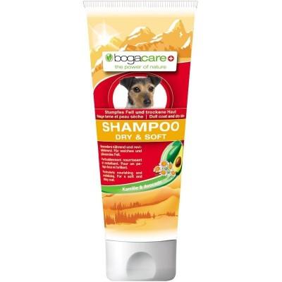 Shampoo per manto secco 200 ml per cani