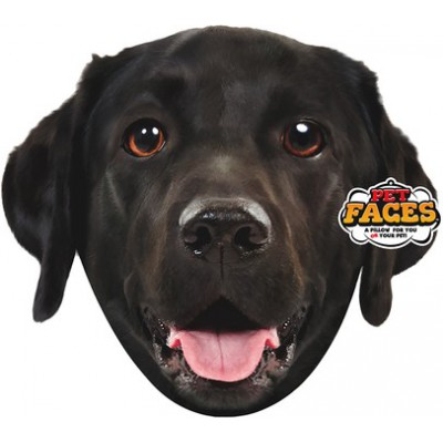 Pet Faces muso Labrador Retriever Cuscino