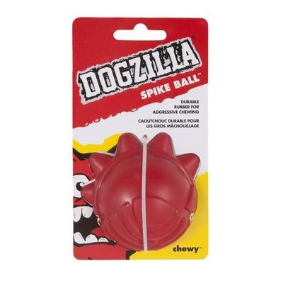 Gioco gomma resistente Dogzilla Spike Ball per cani