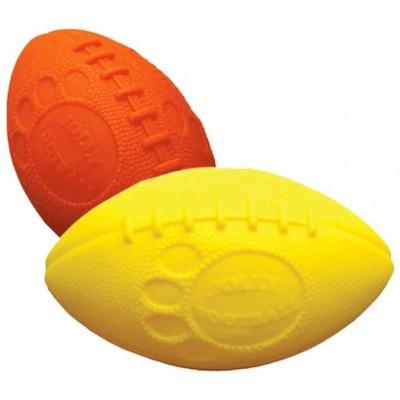 Palla Jolly Football arancione. Pallina Non si buca per cani