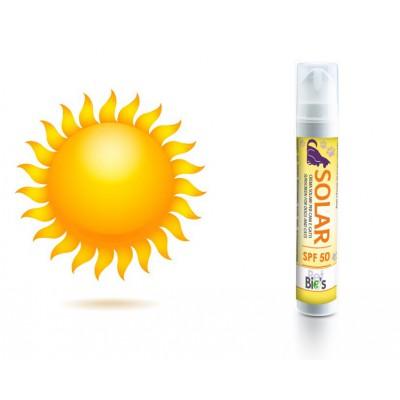crema solare Solar. Con protezione SPF 50 per cani