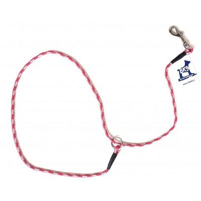 Guinzaglio corda Bianco per prove e ring per cani