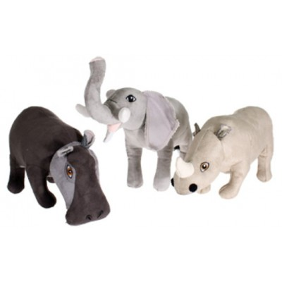 Peluche Safari animali assortiti per cani