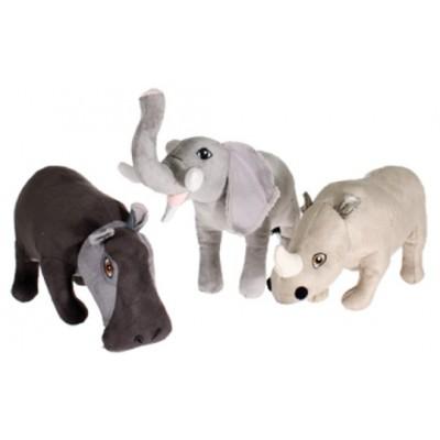 Peluche Safari animali assortiti per cani