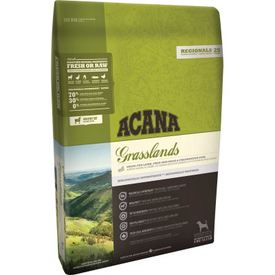 Alimento Completo Acana Grasslands 11,4 kg per cani
