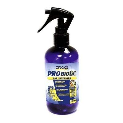 Spray probiotico antiodore igiene interni auto 250 ml. per cani